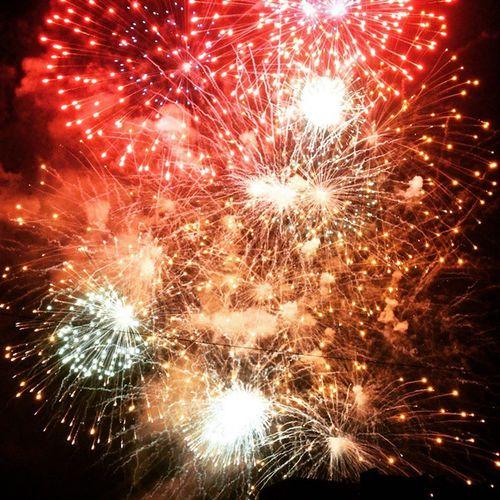 Fireworks in Panang JapaneseFestival Fireworks Panang Malaysia Travel Weekendchallenge