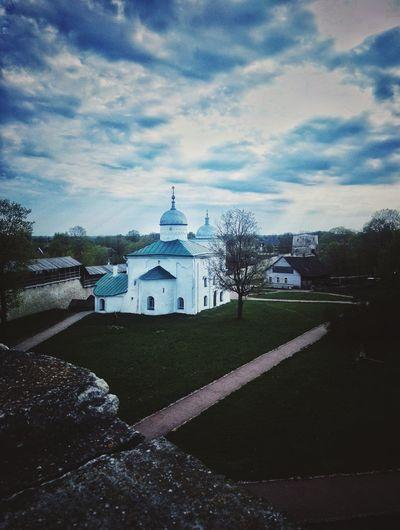 Architecture Cloud - Sky Sky Travel Destinations Pskov 🏡