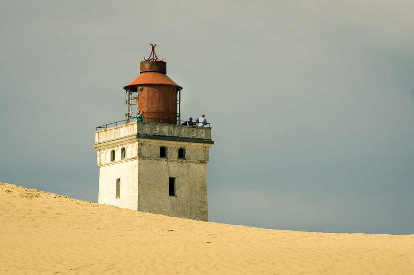 lighthouse Dunes Architecture Beach Building Exterior Built Structure Day Lighthouse Nature No People Outdoors Sand Sand Dune Sky The Week On EyeEm Lost In The Landscape