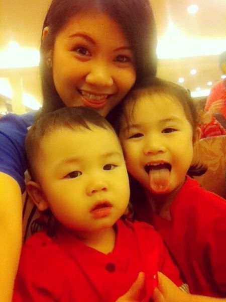 My lovely niece and nephew! Asian Girl Asian Baby Selfie Family