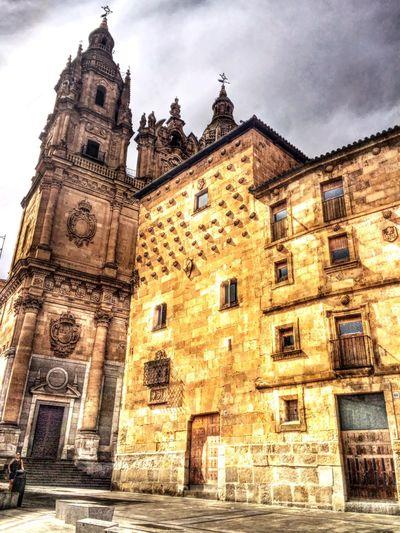 Salamanca, Spain Building Exterior Architecture Built Structure Travel Arts Culture And Entertainment Landscape Vacations Cultures History Travel Destinations Architecture