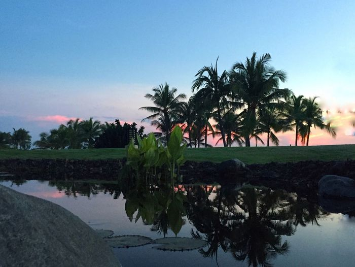 Bali Sunset A Different Perspective Serenity Reflection Peacefulness Stunning Colors But Subdued travel horizons