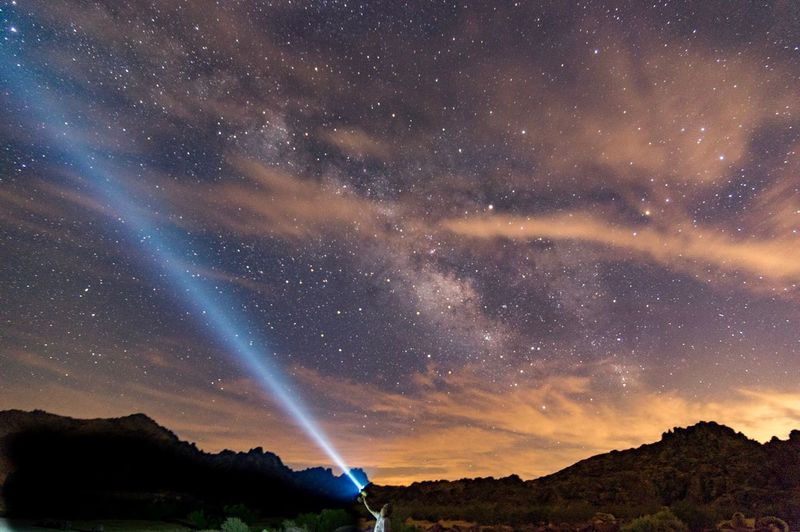 Beam me up Astronomy Milky Way Night Star - Space Astrophotography