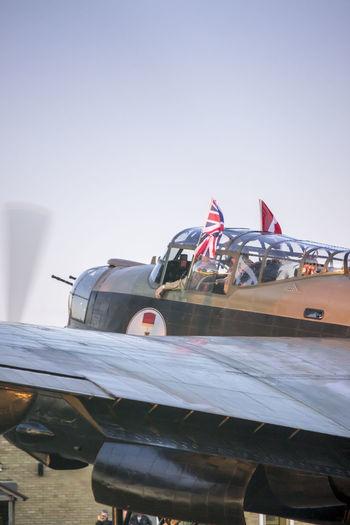 Lancaster Lancaster Bomber Plane Warbird Ww2