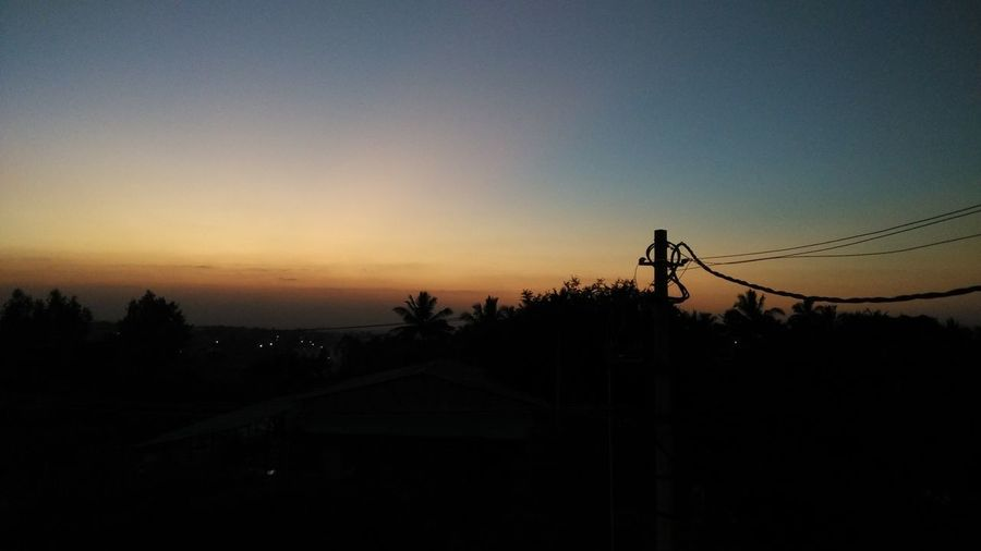 Silhouette Sunset Sky Outdoors Telephone Line Nature Day Eyeemphoto 2017 India Daytime Photography Beauty In Nature Click Click 📷📷📷 Mi4iphotography Photography ♥ No People EyeEm Best Shots - Nature Wide Angle Sunset Sun Set Collection Tree EyeEm Nature Lover Eyeem Market No Edits EyeEm Ready