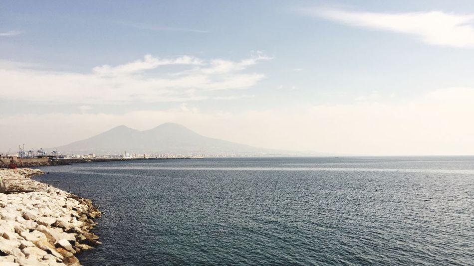 Napoli Sole Felicidad Mare IPhoneography 😚