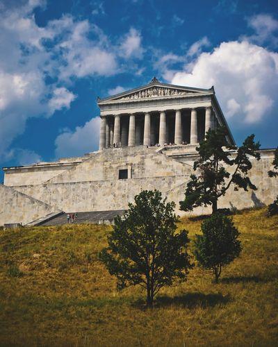 EyeEm Selects Travel Destinations Architecture History Building Exterior Travel Germany 🇩🇪 Deutschland Vacations Explore Architecture Adventure Walhalla Memorial