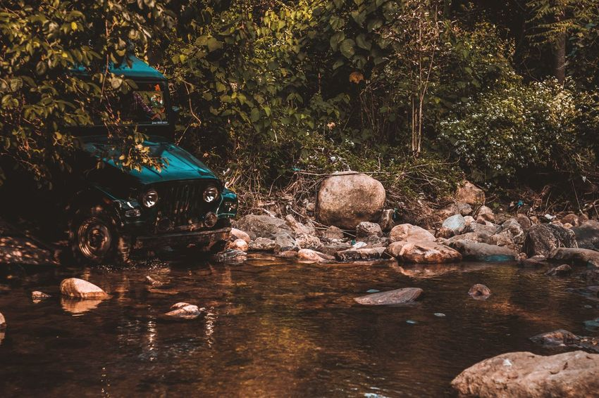 The wild rides inside the forest... Travel Transportation Jeep Ride Forest River Rock Rugged Remote Trek Hills Nature Travel Destinations Earth Raw Wild Tamilnadu Tenkasi Vehicle Landscape Travel Photography EyeEm Nature Lover Water Tree The Traveler - 2018 EyeEm Awards