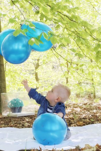 18 may my little friend becomes 1 year! Childhood Child People Males  Balloon Children Only Tree Outdoors Nature One Boy Only Portrait EyeEm Vision Blond Hair PortraitPhotography EyeEmBestPics Streamzoofamily EyeEm Gallery Eyeemphotography
