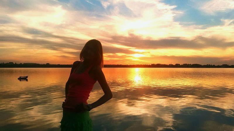 Relaxing Hi! краски природы озеро блаженство Hello World еткуль Summer2016 вид Beutiful  Summer Красоты природы Природа Закат вечер