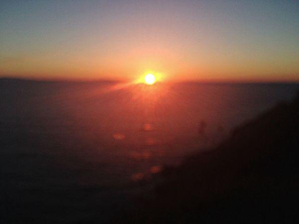 Amazing View Sunset Enjoying Life happyhour on the beach ?