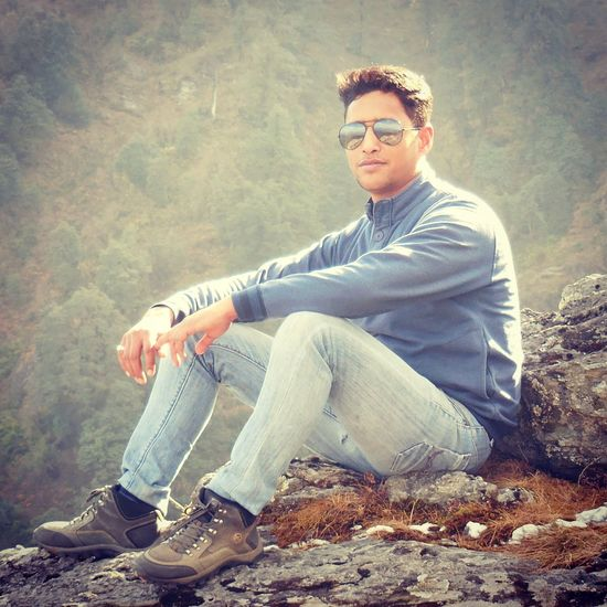Mature Adult Sitting Only Men Young Adult Eyeglasses  One Person One Man Only Adult ThatsMe That's Me! Thats Me  Adults Only People Travel Photography Architecture Binsar Binsar Forest EyeEmNewHere