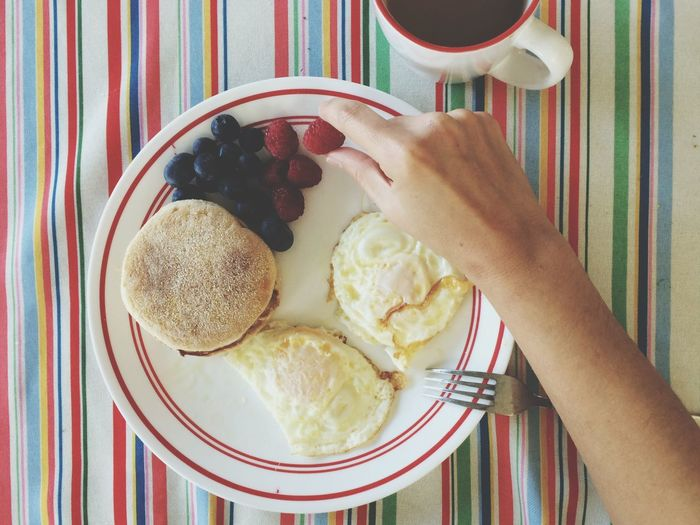 My husband made me breakfast Breakfast Morning Coffee The Foodie - 2015 EyeEm Awards Mealtime Time For Breakfast  Food Porn Awards