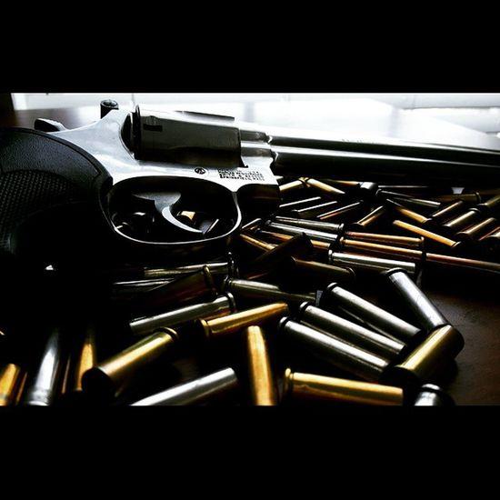 My attempt at gun photography. 357magnum SmithAndWesson Revolver