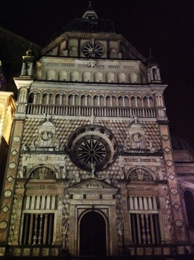 One Night in Bergamo Ancient Architecture