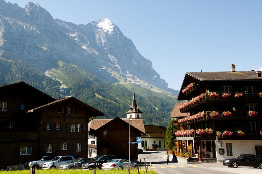 Gimmelwald Suisse  Alps Jungfrau Switzerland