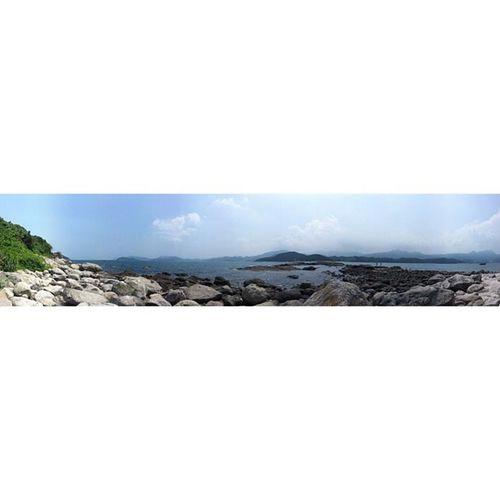 雖然沒有大藍天,但也有小白雲?。 Instasize Sky Blue HongKong instadaily instamood love