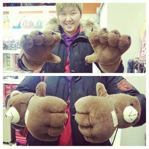 перчатки прикольные чутьнекупила