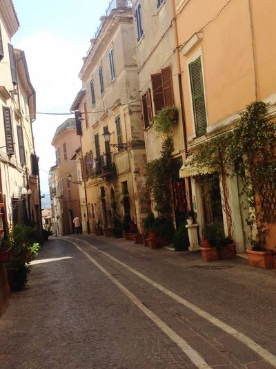 The way that you gone is wrong turn... Fiano Romano Italia Architecture Building Street Building Exterior Road Built Structure City Outdoors