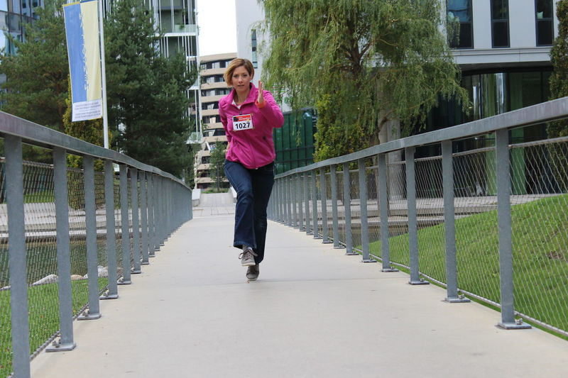 "Fotomarathon Wien 2017 EyEmNewHere Running Only Women One Person Adult Jogging City Day Smiling One Young Woman Only Full Length Laufen One Woman Only Adults Only Outdoors City Life Young Adult Bridge Women ""Startnummer"""