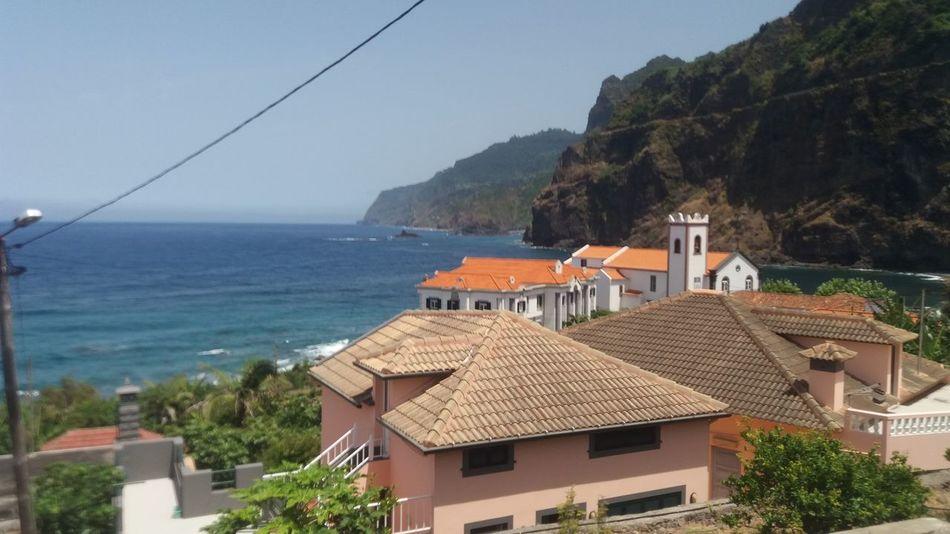EyeEm Selects Sea Town Village Village Life No People Vacations Roof Water Scenics Madeira Island Madeira Ponta Delgada Portugal Summer Coast Coastline EyeEmNewHere