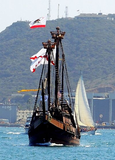 Sailing Ship San Salvador Tall Ship Anchors⚓ Canon_photos Captains Cabin Ljubljana Dingy On Water Festival Of Sails Harbor View Helm Nautical Vessels Oars Sailing Vessels Scooners Tall Masts Under Sail