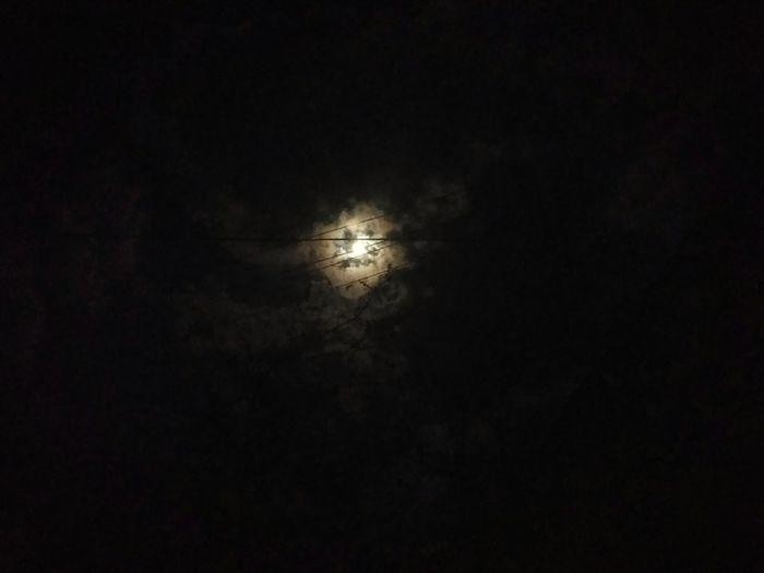 Night Sky No People Illuminated Nature Low Angle View Outdoors