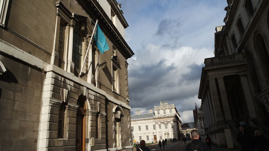 London Greenwich Naval College 21st Birthday! Architecture Same Shot Different Edit