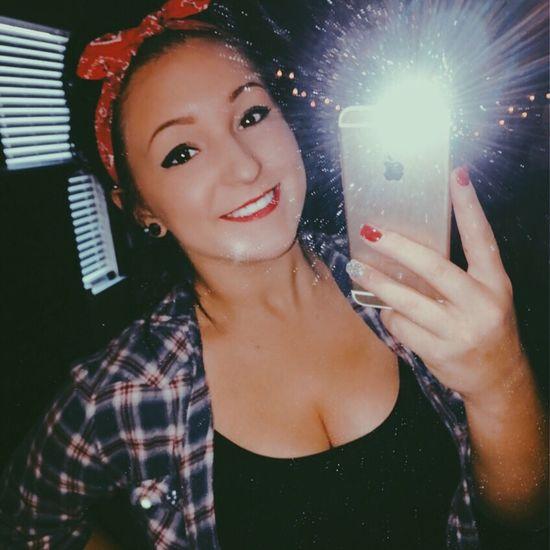 Loveit Matteblack Makeup Bandana Lips Red Selfie Happy Beauty