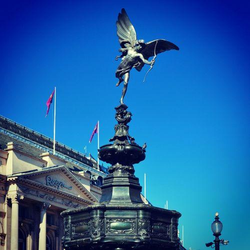 London Picadillycircus Eros Statue PhotoByMuratGul