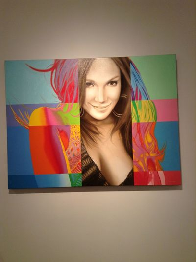 Found a piece of Jlo at art Basel last year