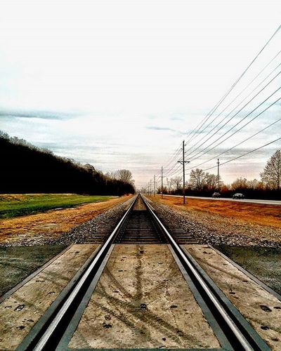 Tracks to the city......headed to Weston Missouri. Ks_pride Atchison Wow_america Wow_bnw Nature Kansasoutdoors Kansasmag WOW Wow_america World_bnw Googleplus Fuckyeah Railroadphotography Tracks