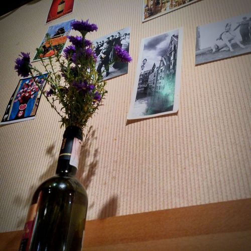 Wine Bottle Bottle Indoors  Wine Table Wine Cork No People Cork - Stopper Alcohol Close-up Day Flower