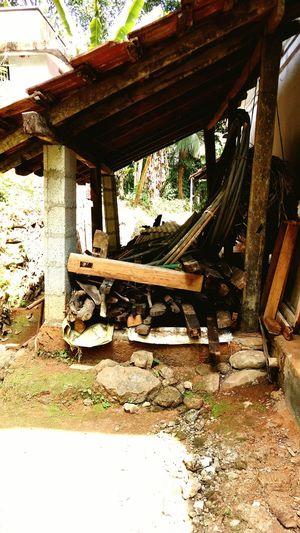 Backyard Woodstock Storage Space Vintage House