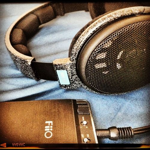 Sennheiser Hd600 and Fiio18 portable Amp perfect combination for my Audiophile Music on the go