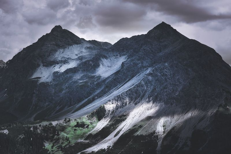 SwissMountain Tranquility Snow Non-urban Scene Mountain Range Cold Temperature Landscape Day Winter No People