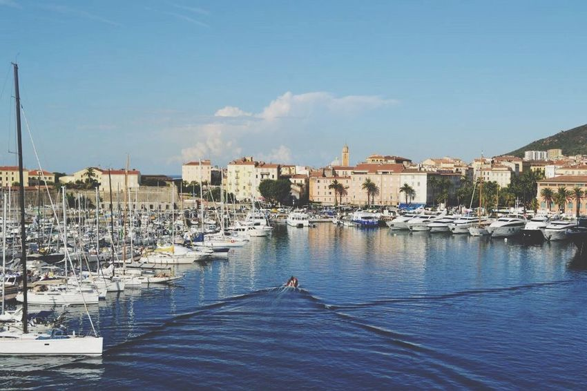 Yacht Holiday Yacht Beauty Sea Ocean Tranquil Corsica