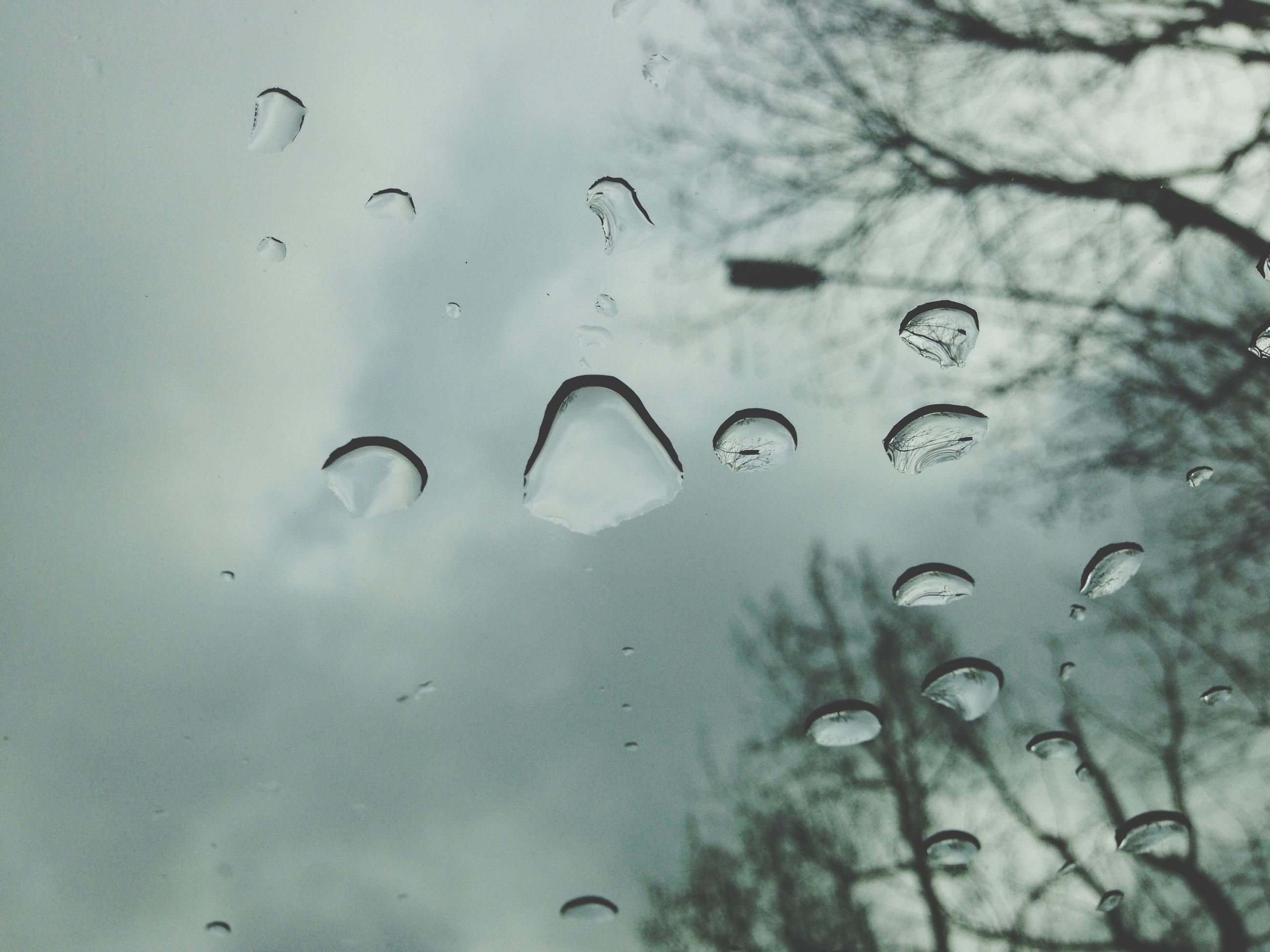 drop, wet, water, rain, raindrop, transparent, window, glass - material, indoors, weather, close-up, focus on foreground, droplet, sky, season, water drop, glass, backgrounds, full frame, no people