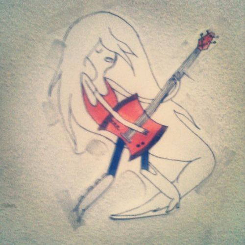 Adventure Time Tattoo Marceline vampire chance