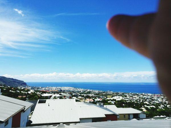 Reunion Island High Angle View Cloud - Sky City Saint-Denis