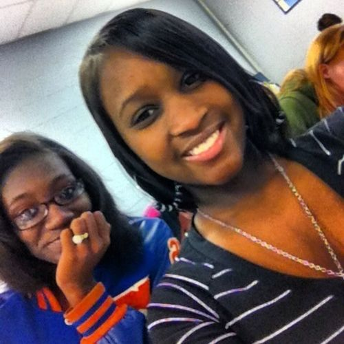 Me And Brittany In 3rd Block 2day
