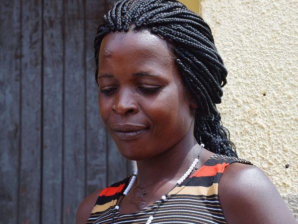 Burunga Uganda Portrait Beautiful Woman Headshot Women Young Women Front View Confidence  Close-up Brown Eyes This Is My Skin
