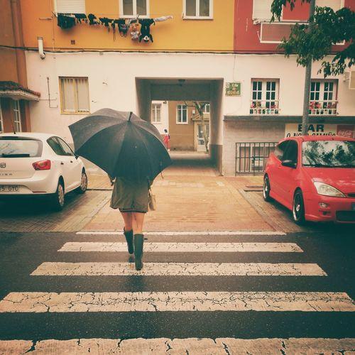 Día de choiva.