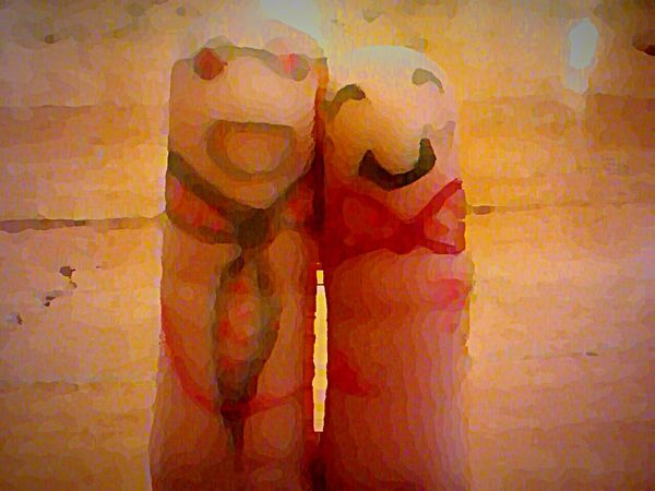 Fingers Painting Enjoying Life Smile ✌ Check This Out Couple Cute Friends