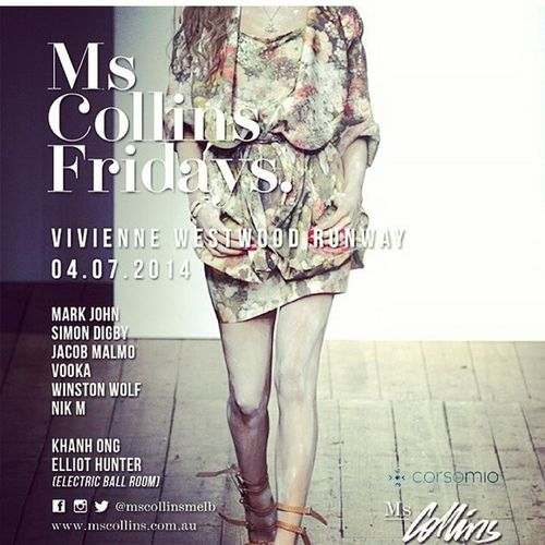 Regram by @melbournestylists see you ladies tonight @mscollinsmelb Mscollinsfridays Friday ?