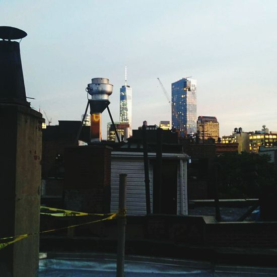 View of the freedom tower from a rooftop Ilove Ny Newyork Freedomtower NYC
