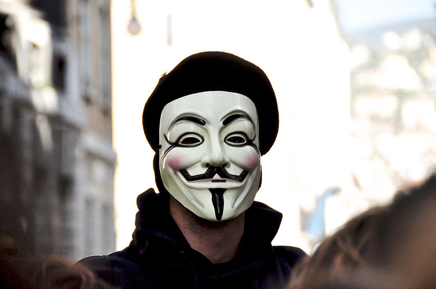 anonymous Anonymous Anonymous Mask Close-up Outdoors Portrait Street Photography Student Protest Trieste Resist