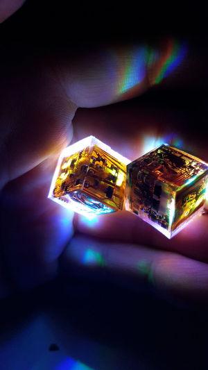 Advanced Future Vision Healing Human Hand Light And Shadow Mechanical Science Spa