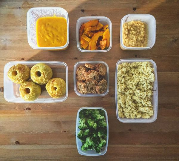 Meal Prep Organization Stock Tupperware Food Food And Drink Table Freshness Variation No People Indoors  Ready-to-eat Day Order Healthy Eating Healthy Food Stories From The City