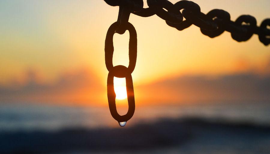 Chains against